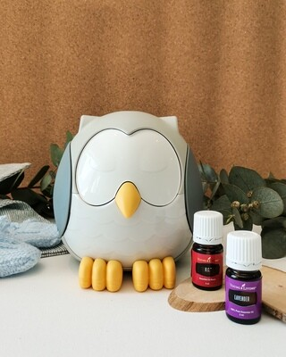 Feather The Owl Diffuser – Kids Bundle - Breathe