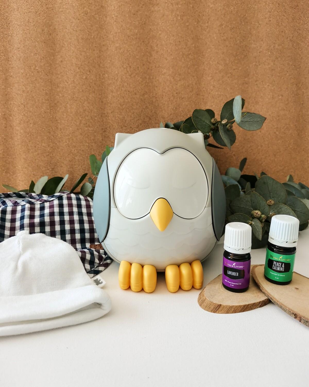 Feather the Owl Diffuser – Kids Bundle - Newborn Sleep