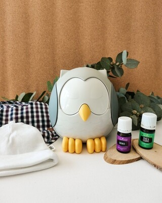 Feather the Owl Diffuser – Kids Bundle - Newborn Sleep