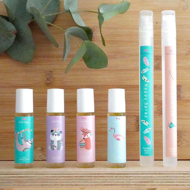 Woodlands Baby Essential oil Rollers and Spray