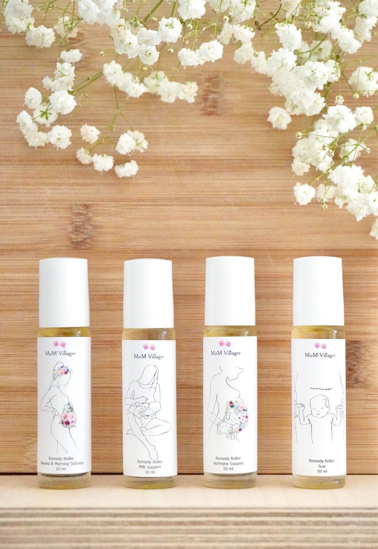 Motherhood Essential oil Rollers and Spray