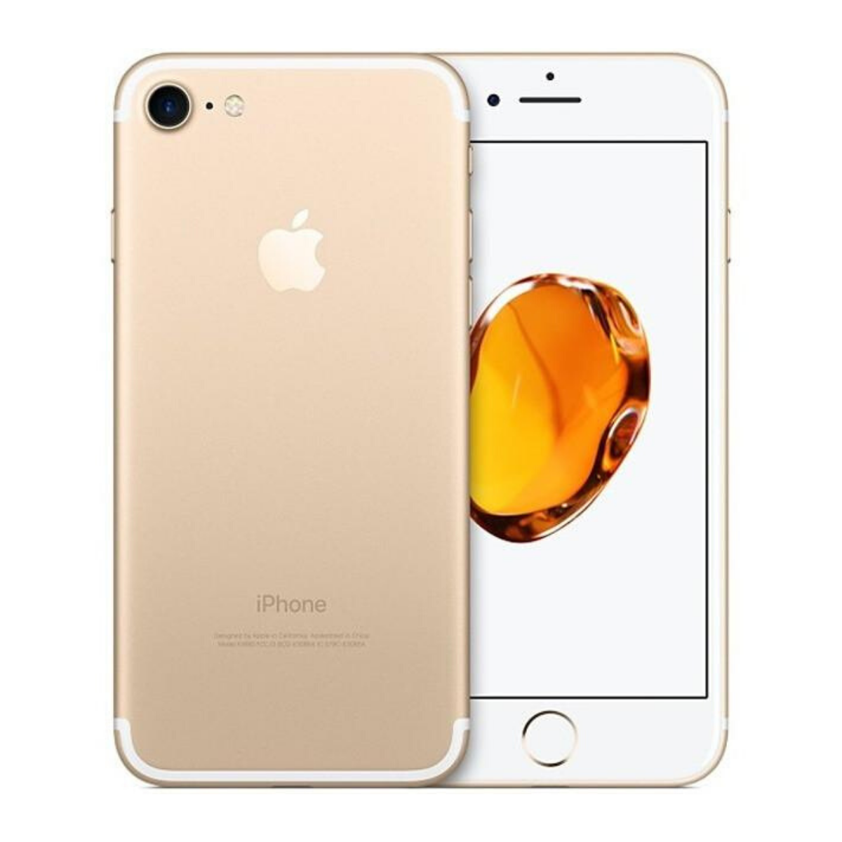 Sim Free iPhone 7 128GB Unlocked Mobile Phone - Gold