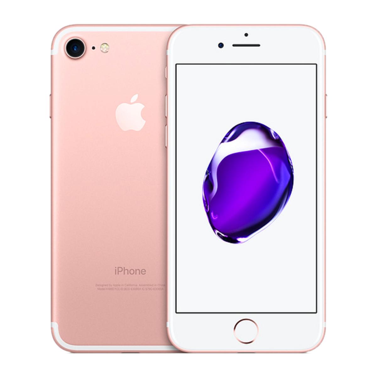 Sim Free iPhone 7 32GB Unlocked Mobile Phone - Rose Gold