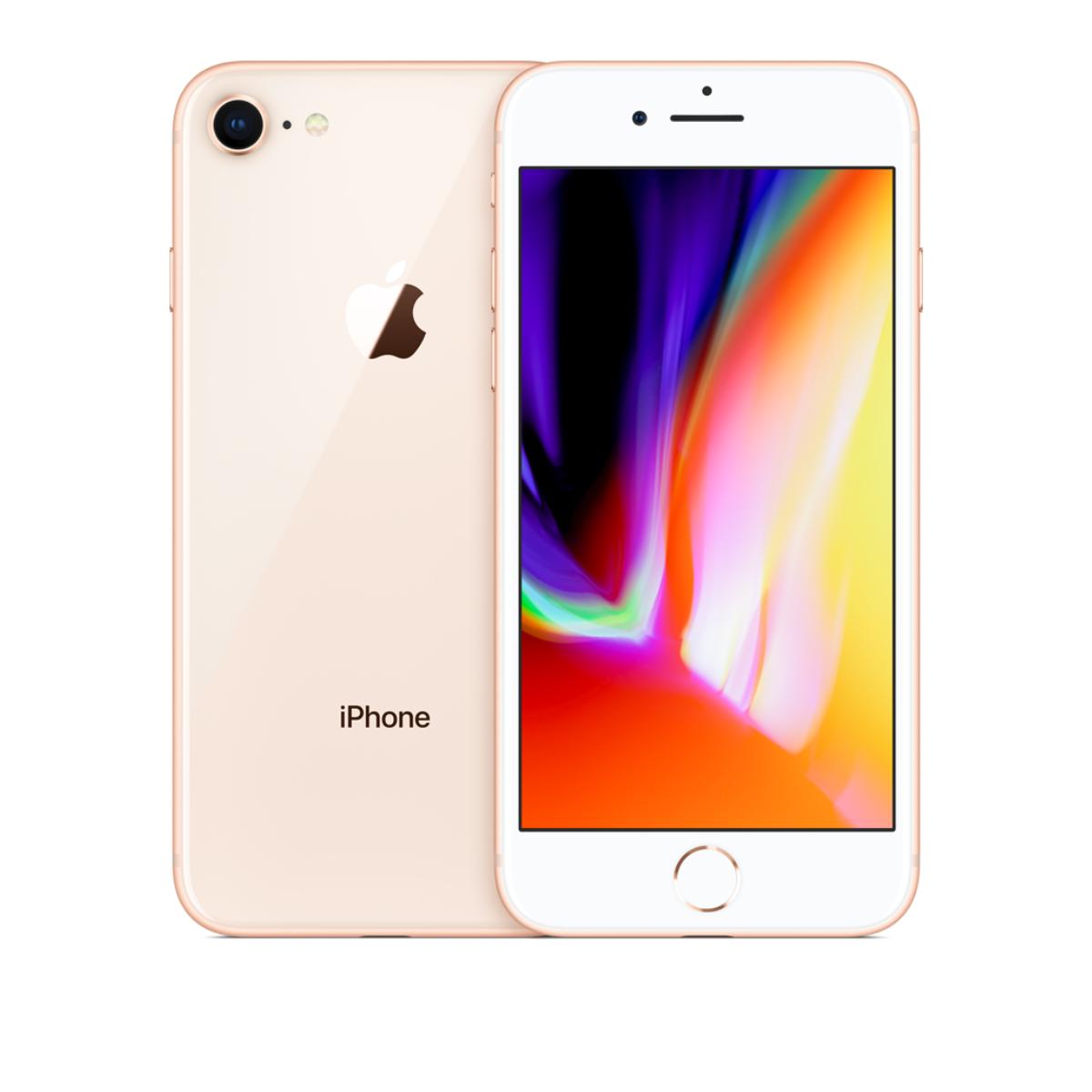 Sim Free iPhone 8 64GB Unlocked Mobile Phone - Gold