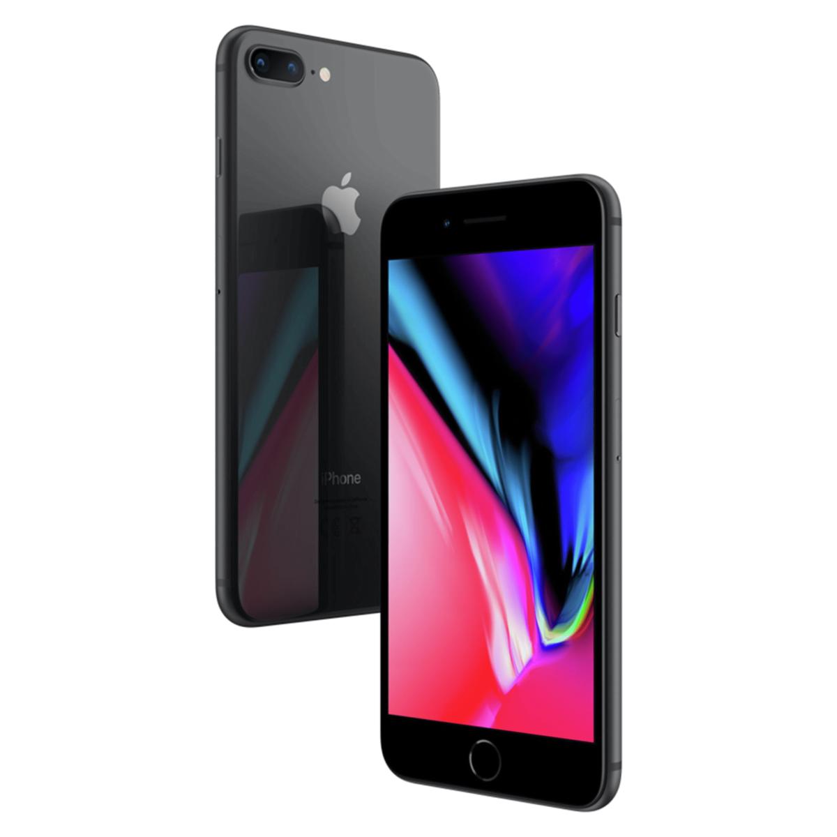 Sim Free Apple iPhone 8 Plus 64GB Unlocked Mobile Phone - Space Grey