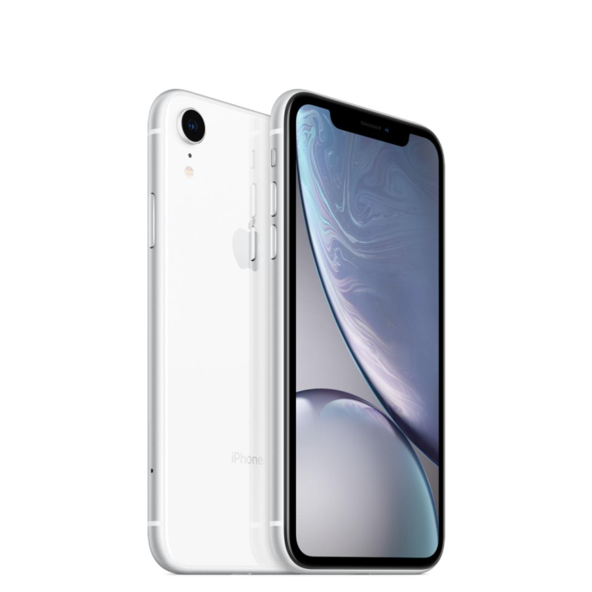 Sim Free Apple iPhone XR 64GB Unlocked Mobile Phone - White