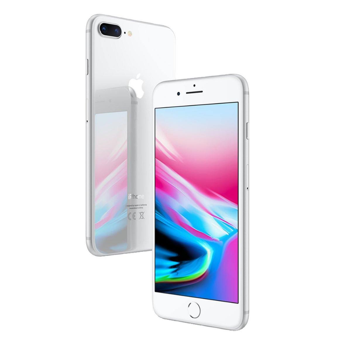 Sim Free Apple iPhone 8 Plus 64GB Unlocked Mobile Phone - Silver