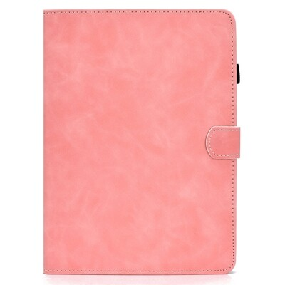 For iPad Air 2020 10.9 Texture Horizontal Flip Leather Case - Rose Gold