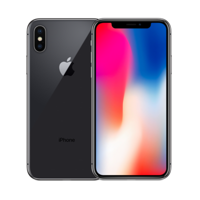 Sim Free iPhone X 64GB Unlocked Mobile Phone - Space Grey