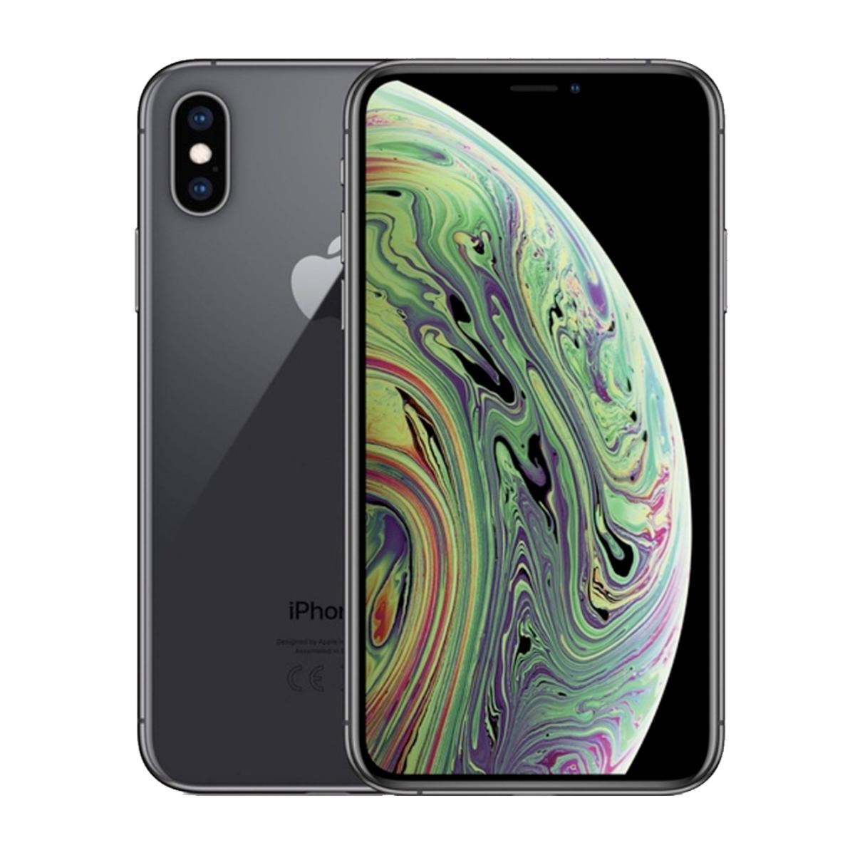 Sim Free iPhone Xs 256GB Unlocked Mobile Phone - Space Grey