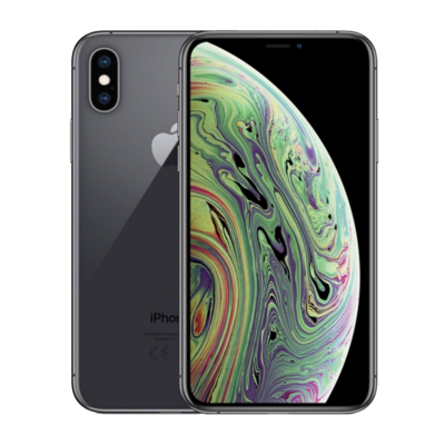 Sim Free iPhone Xs 64GB Unlocked Mobile Phone - Space Grey