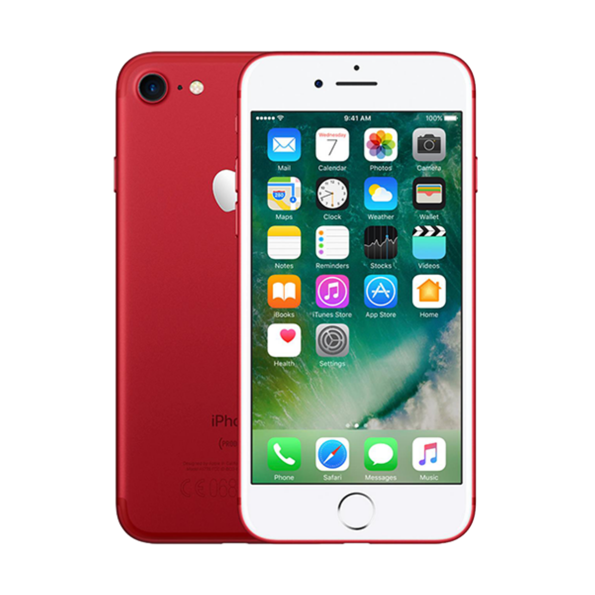 Sim Free iPhone 7 128GB Unlocked Mobile Phone - Product Red