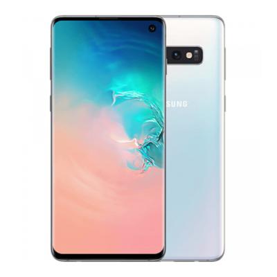 Sim Free Samsung Galaxy S10 128GB Unlocked Mobile Phone - Prism White