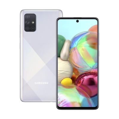 Sim Free Samsung A71 128GB Unlocked Mobile Phone - Silver