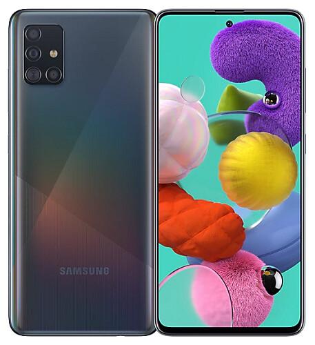 Sim Free Samsung A51 128GB Unlocked Mobile Phone - Black