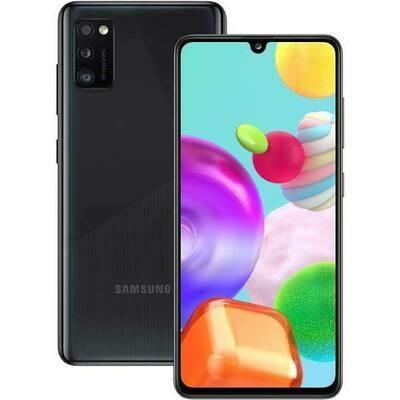 Sim Free Samsung A41 64GB Dual Sim Mobile Phone – Black