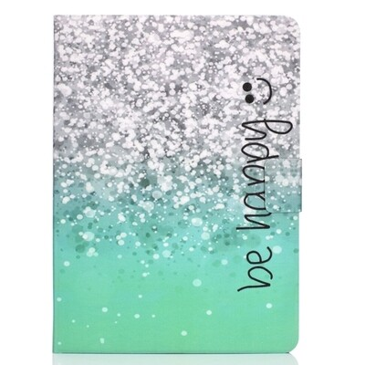 For iPad Air 2020 10.9 Electric Pressed Colored Drawing Horizontal Flip Leather Case