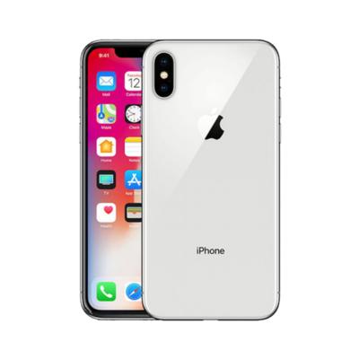 Sim Free iPhone X 64GB Unlocked Mobile Phone - Silver