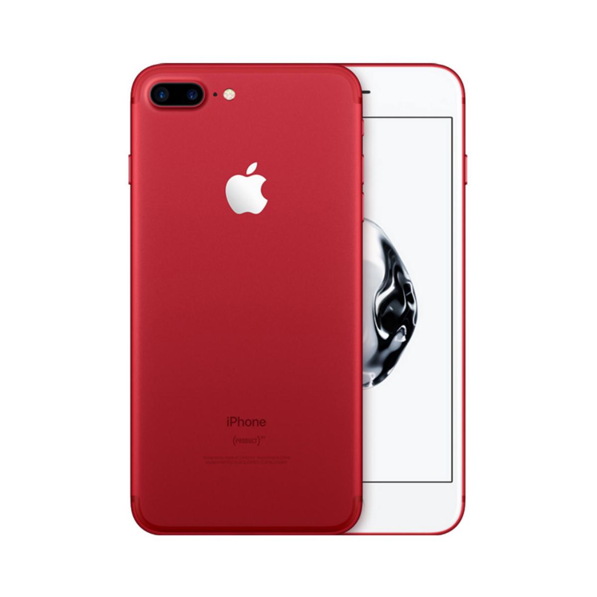 Sim Free Apple iPhone 7 Plus 128GB Unlocked Mobile Phone - (Product) Red