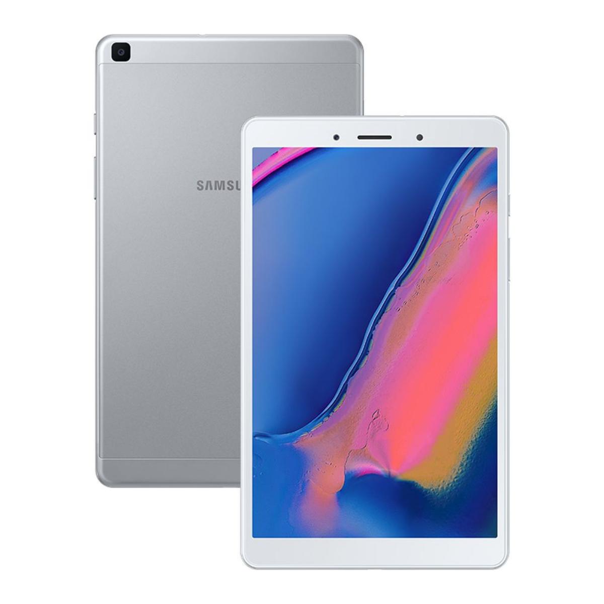 """Samsung Galaxy Tab A SM-T295 8.0"""" (WiFi + Cellular) (Unlocked) 32GB 4G LTE Tablet - Silver"""