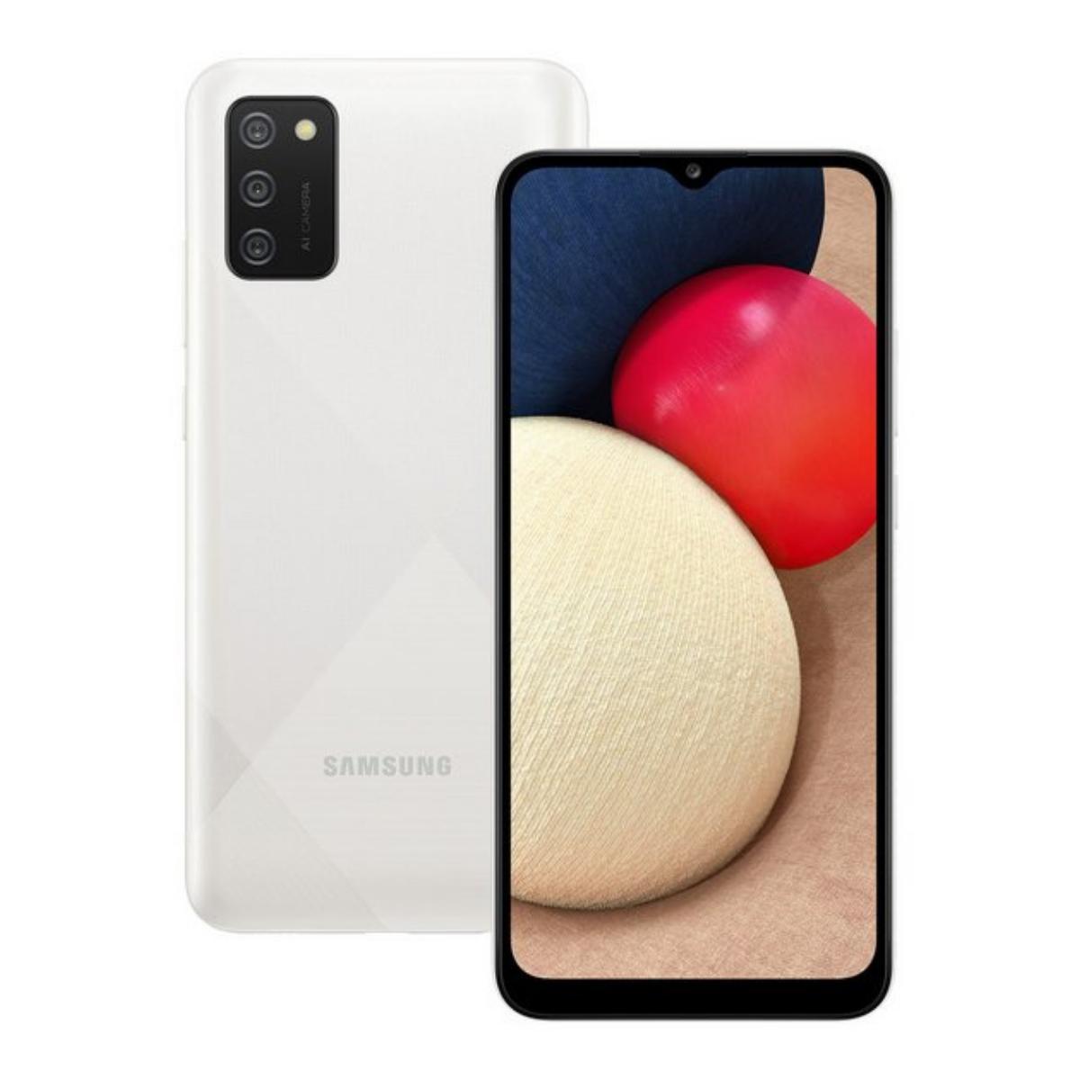 Sim Free Samsung Galaxy A02s 32GB Mobile Phone - White