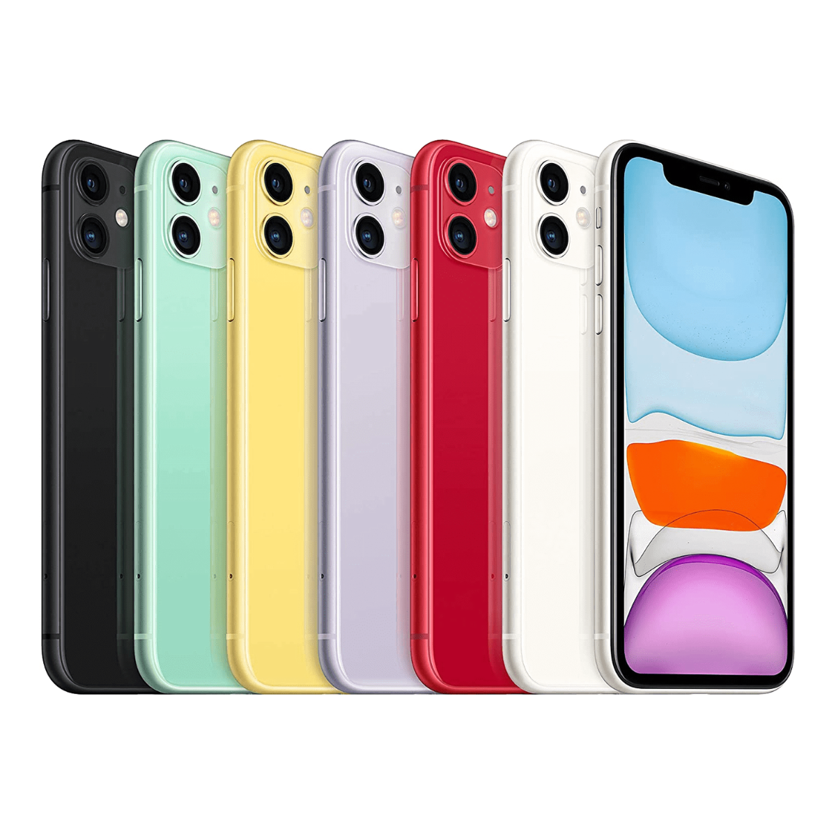 Sim Free iPhone 11 64GB Unlocked Mobile Phone - All Colours