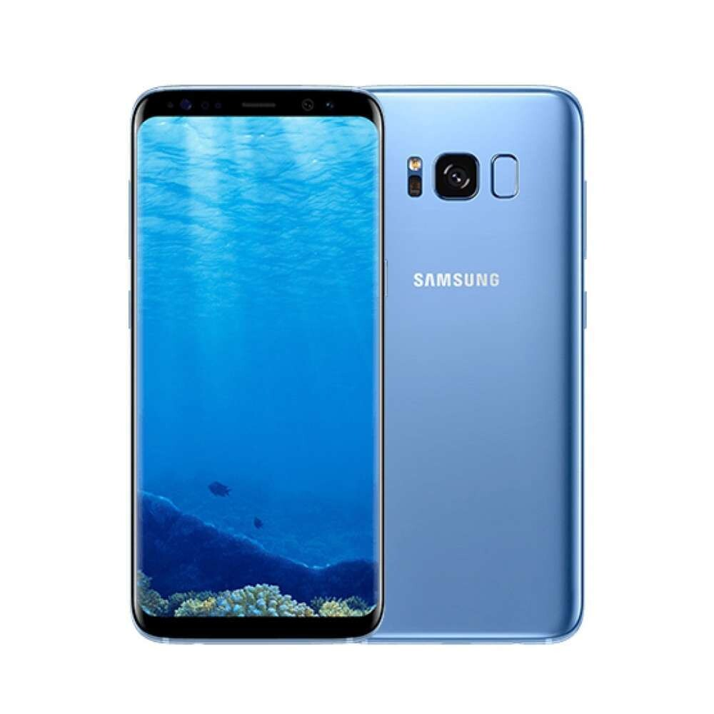 Sim Free Samsung Galaxy S8 64GB Unlocked Mobile Phone - Blue