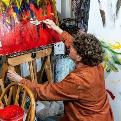 gwen spinks painter from Gabriola Island