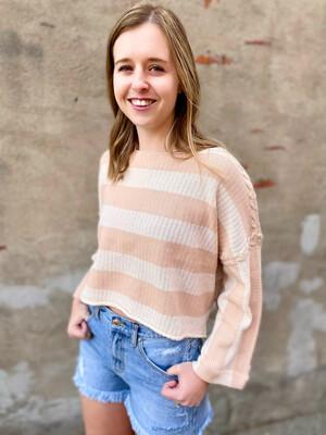 Izzy Striped Sweater