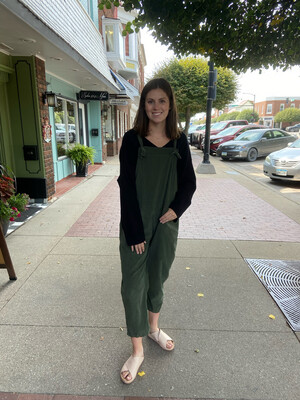 Knot Strap Jumpsuit O/S