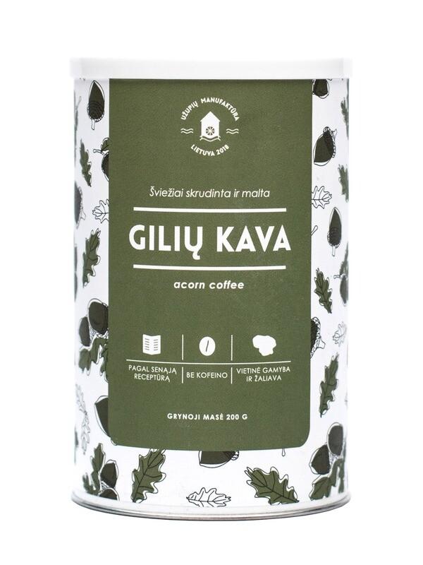 Gilių kava
