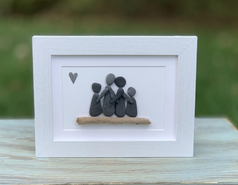 Driftwood Family of 4