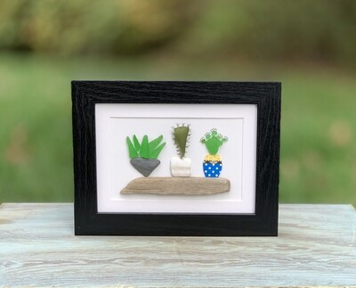 Sea Glass Cactus