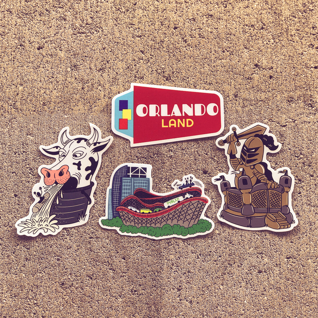 Orlando Land – 4 Pack