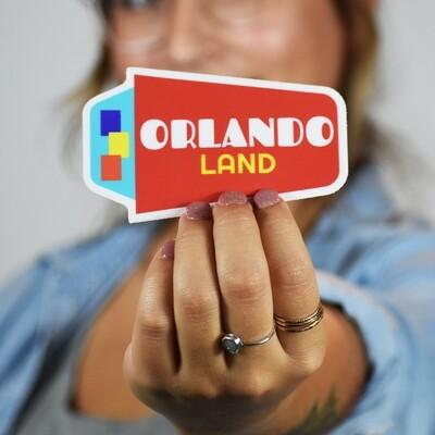 Orlando Land Sticker