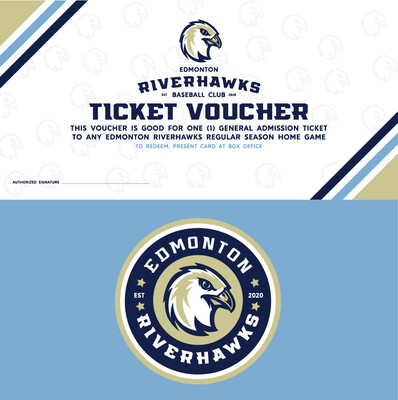 Stocking Stuffer - Riverhawks Game Voucher