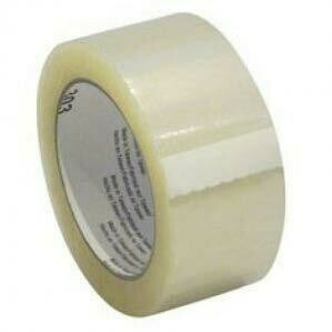 Buff Clear Tape