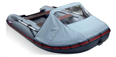 Носовой тент для лодки Хантер 390 А