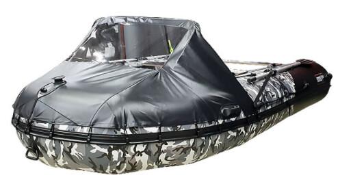 Носовой тент для лодки Хантер 420 ПРО