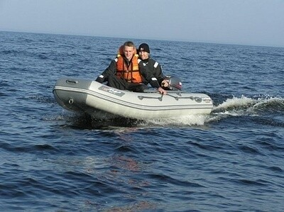 Лодка Мнев и К Кайман N-330