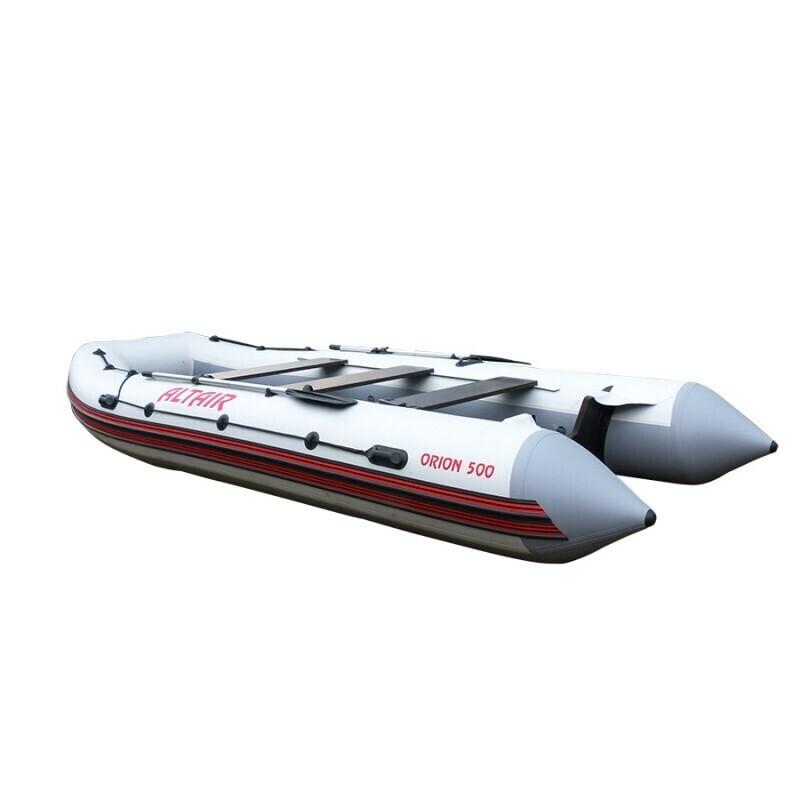 Лодка Альтаир ORION 550 бело-серый