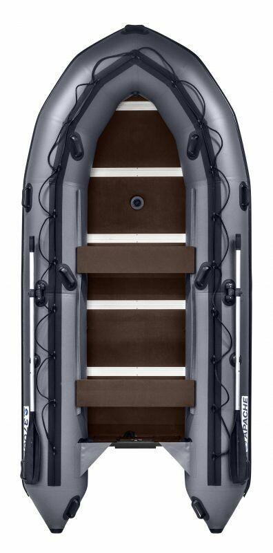 Лодка Апачи 3700 СК графит