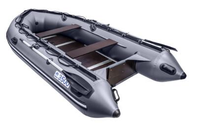Лодка Апачи 3500 СК графит