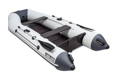 Лодка АКВА 3200 Слань-книжка киль светло-серый/графит