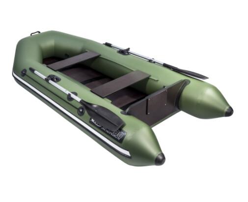 Лодка АКВА 2800 Слань-книжка киль Зеленый