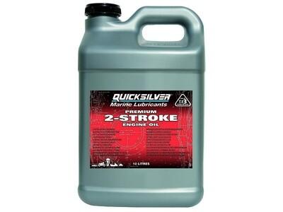 Масло для лодочных моторов Quicksilver Premium 10л. 2-такт.