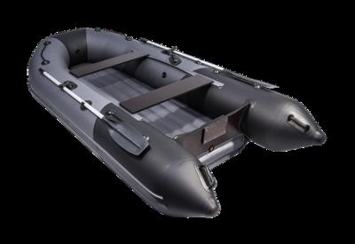"Лодка  Таймень NX 3200 НДНД ""Комби"" графит/черный"