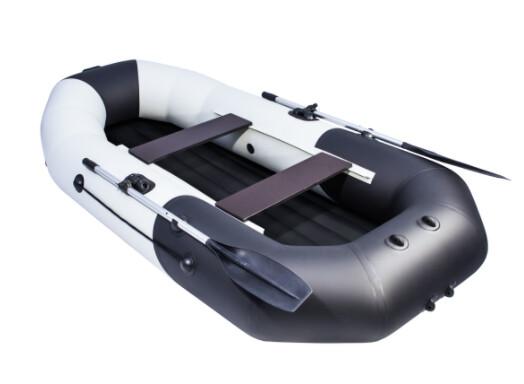 "Лодка Таймень NX 270 НД ""Комби"" светло-серый/черный"