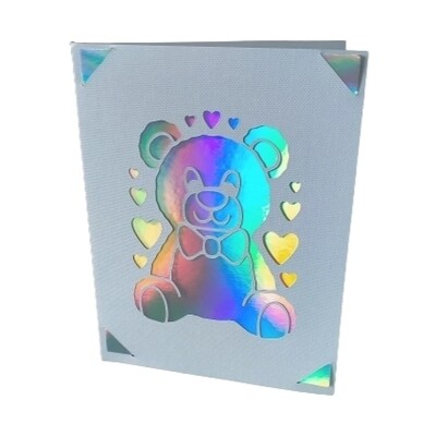 Greetings Card - Teddy Bear
