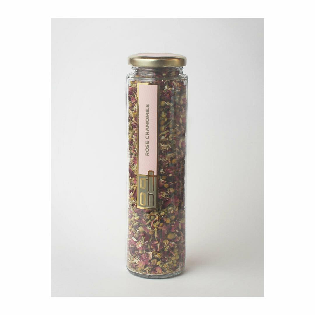 Rose Chamomile Floral Tea